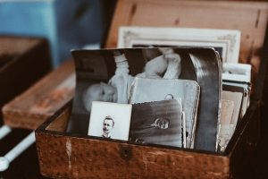 organizing your memoirs, old photographs