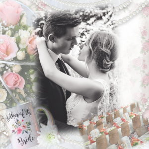 organizing your memoirs, wedding collage